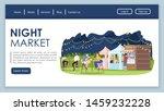 night market landing page...