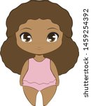 African American Chibi Girl...