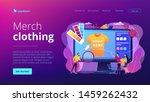 t shirt print on demand... | Shutterstock .eps vector #1459262432
