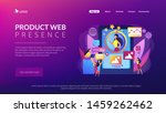 pr managers team working ... | Shutterstock .eps vector #1459262462