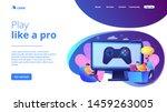 computer gaming industry ... | Shutterstock .eps vector #1459263005