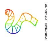 rainbow gradient line drawing...   Shutterstock . vector #1459302785