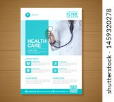 corporate healthcare cover a4... | Shutterstock .eps vector #1459320278