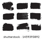 collection of paint strokes... | Shutterstock .eps vector #1459393892