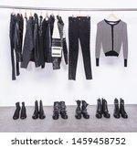 fashion black different...   Shutterstock . vector #1459458752