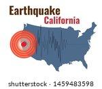 california earthquake concept ... | Shutterstock .eps vector #1459483598