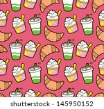food and beverage seamless... | Shutterstock .eps vector #145950152