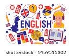 british english language... | Shutterstock .eps vector #1459515302