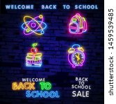 back to school welcome greeting ... | Shutterstock .eps vector #1459539485