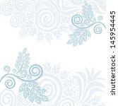 invitation card wedding vector... | Shutterstock .eps vector #145954445