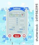 menu of graphical user...