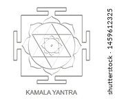 vector icon with kamala yantra...   Shutterstock .eps vector #1459612325