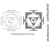 vector icon with chinnamasta...   Shutterstock .eps vector #1459614935