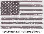 vintage flag of usa. grunge... | Shutterstock .eps vector #1459614998