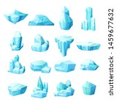 realistic set of crystals of...   Shutterstock .eps vector #1459677632