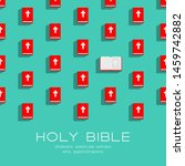 Holy Bible Book 3d Isometric...
