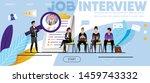 job interview  recruitment.... | Shutterstock .eps vector #1459743332