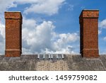 Two Substantial Chimney Stacks...