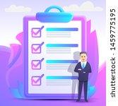 checklist concept background....