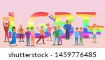 transgender people concept...   Shutterstock . vector #1459776485