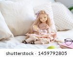 Two dolls made by hands from...