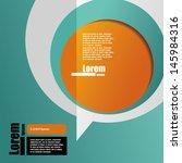 cover template. brochure design | Shutterstock .eps vector #145984316