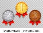 shiny gold bronze silver winner ... | Shutterstock .eps vector #1459882508