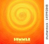 Summer  Circles.  Vector...