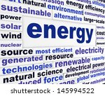 energy creative words design.... | Shutterstock . vector #145994522