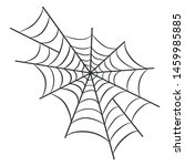 spider web for halloween design ...   Shutterstock .eps vector #1459985885