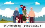 family together members in the...   Shutterstock .eps vector #1459986635