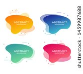 set of abstract modern graphic...   Shutterstock .eps vector #1459987688