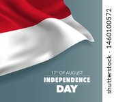 indonesia happy independence... | Shutterstock .eps vector #1460100572