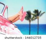 Vacation Travel Freedom Beach...