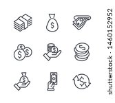 Simple Of Money Related Vector...
