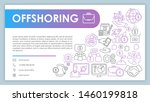 offshoring web banner  business ...