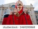milano  italia   july 10   two... | Shutterstock . vector #1460200868