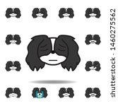 pekingese emoji lonely...