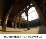 egypt interior of mosque in... | Shutterstock . vector #1460299508