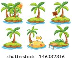 illustration of the islands... | Shutterstock .eps vector #146032316