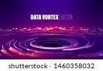 geometric circle background.... | Shutterstock .eps vector #1460358032