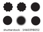 set of vector starburst ... | Shutterstock .eps vector #1460398052