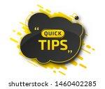quick tips  helpful tricks....   Shutterstock .eps vector #1460402285