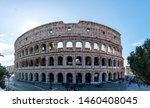 A Panoramic Of Colosseum Or...