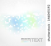 abstract background with square ... | Shutterstock .eps vector #146045192