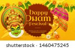 Happy Onam Kathakali...