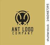 Ant Logo Design . Vector...