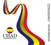 chad independence day vector... | Shutterstock .eps vector #1460545622