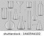 laboratory glassware  chemical... | Shutterstock .eps vector #1460546102