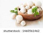 Fresh White Mushrooms...